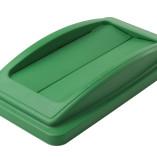 Green flip lid