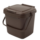 2 Gallon Brown Kitchen Caddy with up to 70% recycled content.