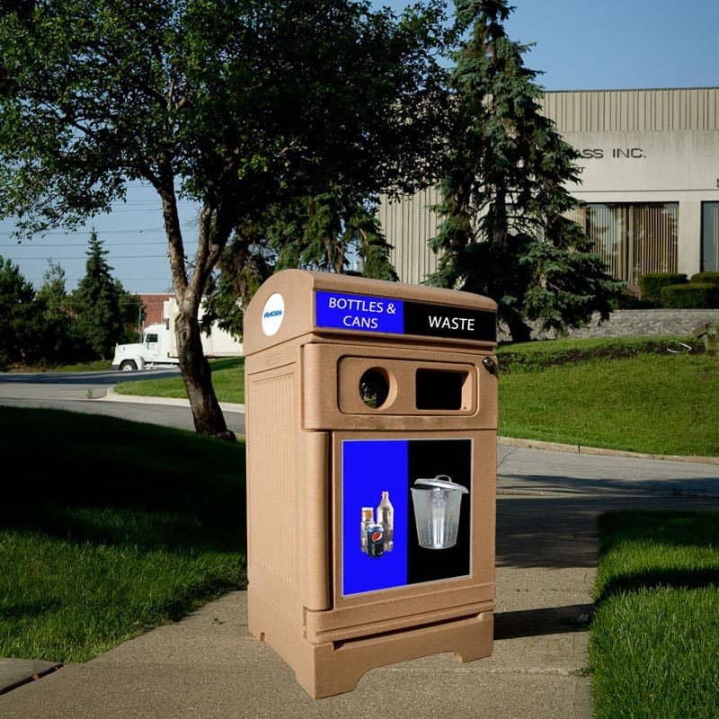 Phoenix waste receptacle ecovision environmental - Ecovision homes ...