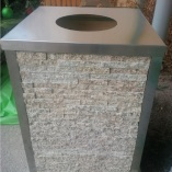EcoGranite Bin Round Hole Top