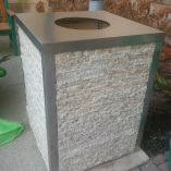 EcoGranite Bin Round Hole Top2