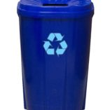 Blue 55 gallon