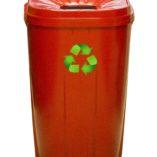 Red 55 gallon