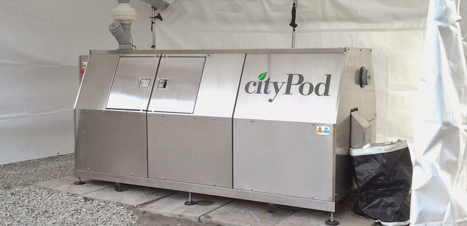 Citypod Commercial Amp Institutional Composters Ecovision