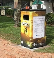 Ecoclean Cube Solar Powered Compacting Bins Ecovision